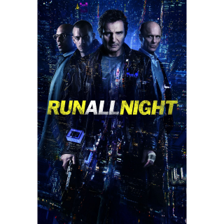 Run All Night HDX Vudu / MA - Instant Delivery!
