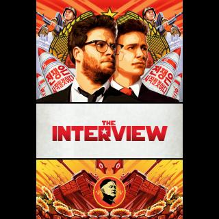 The Interview HDX UV / Vudu / MA