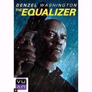 The Equalizer HD Vudu / MA - Instant Delivery!