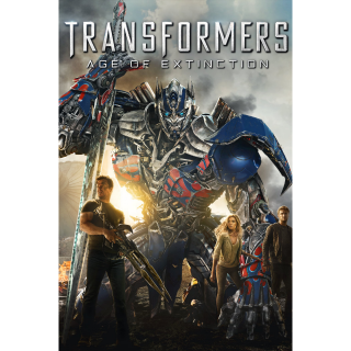 Transformers: Age of Extinction HDX Vudu / UV / MA- Instant Delivery