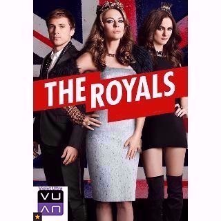 The Royals Season 1 (10 Episodes) SD Vudu - Instant Delivery!