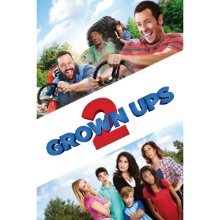 Grown Ups 2 HDX Vudu / MA - Instant Delivery!