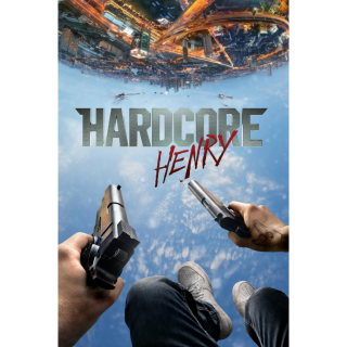 Hardcore Henry HD iTunes / MA port - Instant Delivery!
