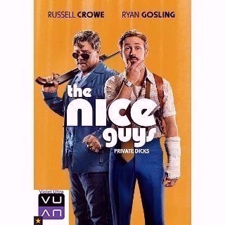 The Nice Guys HDX Vudu / MA - Instant Delivery!