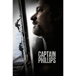 Captain Phillips HD MA / Vudu - Instant Delivery!