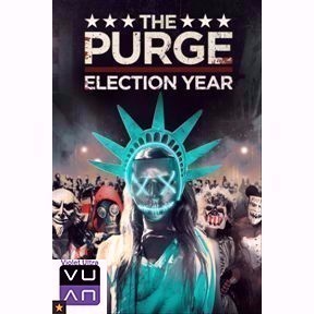 The Purge: Election Year HD iTunes or MoviesAnywhere - Instant Delivery!