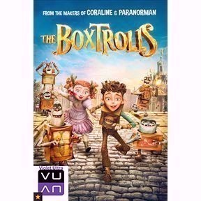 The Boxtrolls HD iTunes - Instant Delivery!
