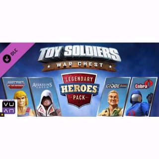 Toy Soldiers Legendary Heroes War Chest DLC Pack (Xbox One) ($15 Value!)