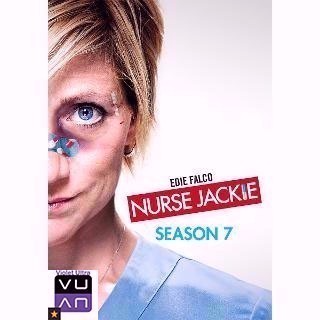 Nurse Jackie: Season 7 HDX Vudu / MA port - Instant Delivery!