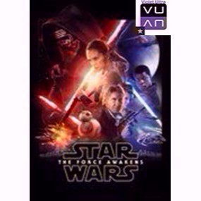 Star Wars: The Force Awakens HDX Vudu / MA / iTunes - Instant Delivery!