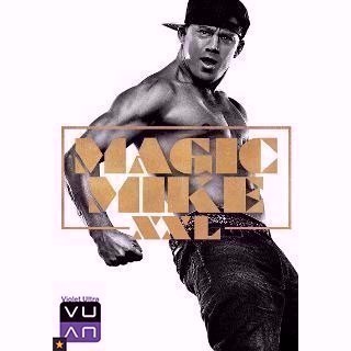 Magic Mike XXL HDX Vudu / MA - Instant Delivery!
