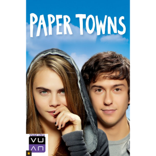 Paper Towns HDX Vudu / MA / iTunes / Gplay - Instant Delivery!