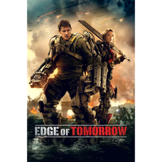 Edge of Tomorrow HD MA / Vudu - Instant Delivery!