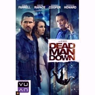 Dead Man Down HDX UltraViolet - Instant Delivery!