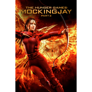 The Hunger Games: Mockingjay - Part 2 HD iTunes / MA port - Instant Delivery!