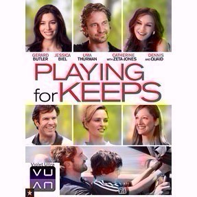 Playing for Keeps SD Vudu / MA - Instant Delivery!
