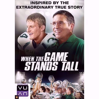 When The Game Stands Tall HD MA / UV - Instant Delivery!