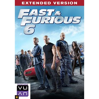 Fast & Furious 6 - Extended Edition iTunes / MA port - Instant Delivery!