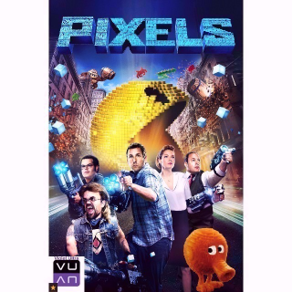 Pixels HD MA / Vudu - Instant Delivery!