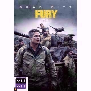 Fury HDX UV / Vudu / MA - Instant Delivery!