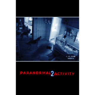Paranormal Activity 2 iTunes