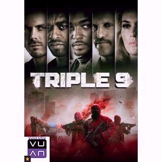 Triple 9 HD iTunes / MA - Instant Delivery!