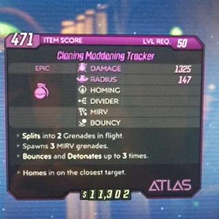 Grenade | cloning maddening trackr