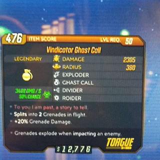 Grenade | Vindicator Ghost Call