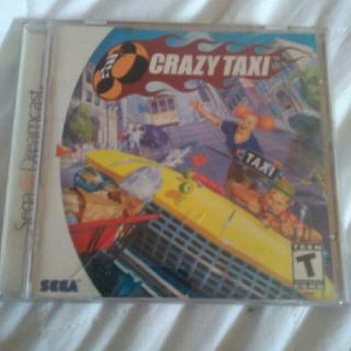 Crazy Taxi(Sega Dreamcast)