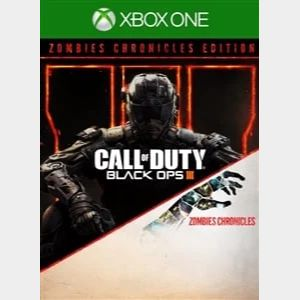 Call of Duty Black Ops III Zombies Chronicles Edition