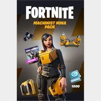 Fortnite - Machinist Mina Pack