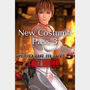 DEAD OR ALIVE 5 Last Round New Costume Pass 3 + Character