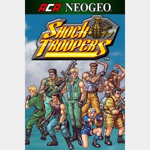ACA NEOGEO SHOCK TROOPERS