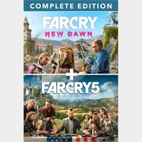 Far Cry® 5 + Far Cry® New Dawn Deluxe Edition Bundle