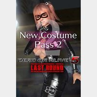 Dead or Alive 5 Last Round New Costume Pass 2