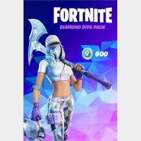 Fortnite - The Diamond Diva Pack [USA]