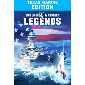 World of Warships: Legends. Texas Marine