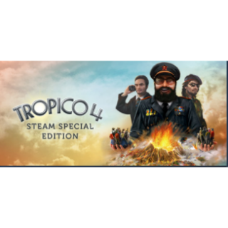 Tropico 4 Steam Special Edition (Auto Delivery)
