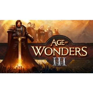 AGE OF WONDERS III - STEAM KEY - INSTANT DELIVERY