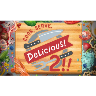 COOK, SERVE, DELICIOUS! 2!! - STEAM KEY - INSTANT DELIVERY