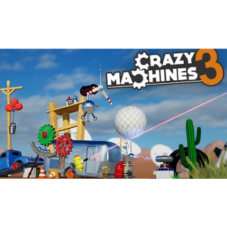 CRAZY MACHINES 3 - STEAM KEY - INSTANT DELIVERY