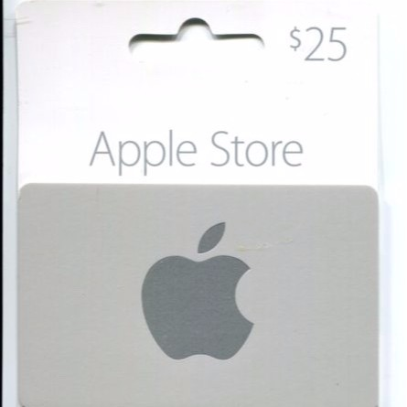 $25 00 Apple Store Gift Card(not iTunes) Pin - Other Gift
