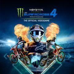 Monster Energy Supercross - The Official Videogame 4 (UK/EU PS5)