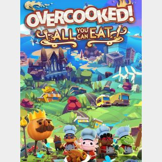 Overcooked! All You Can Eat (PS4 UK / EU)