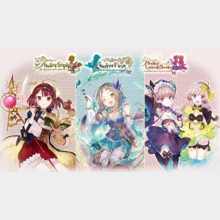 Atelier Mysterious Trilogy Deluxe Pack (PS4 EU)