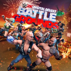 WWE 2K Battlegrounds Digital Deluxe Edition (PS4 North America)