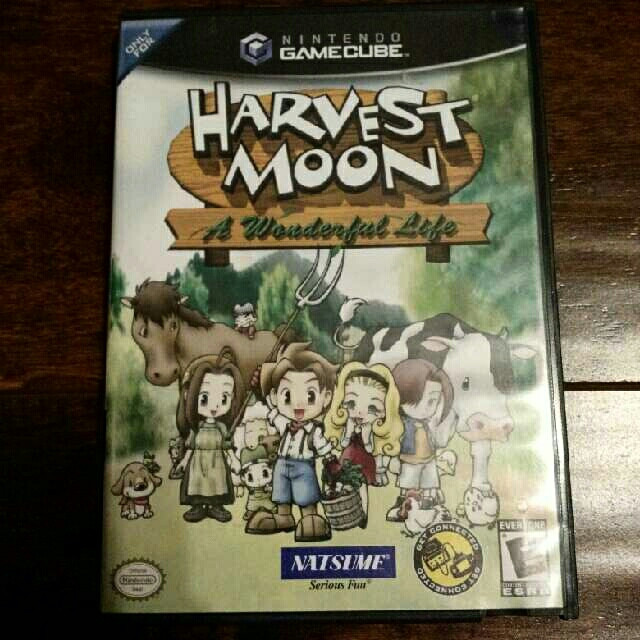 gamecube harvest moon