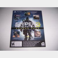 Season Pass for Sniper 3 Ghost Warrior for PlayStation 4 PS4 - INSTANT DELIVERY