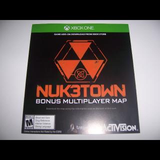 Call of Duty III 3 NukeTown Code for Bonus Multiplayer Map