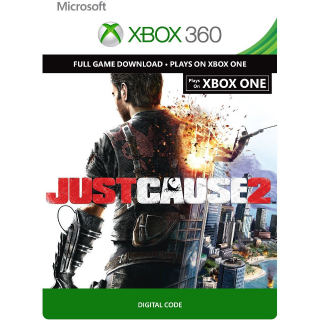Code to download the game Just Cause 2 for Xbox One or Xbox 360 - Instant Delivery!